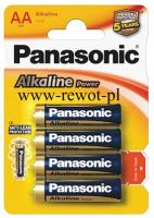 BATERIA ALKALINE POWER AA-LR6  (PANASONIC)